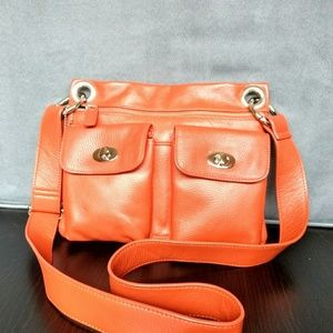 DANIER Genuine Leather Crossbody Bag